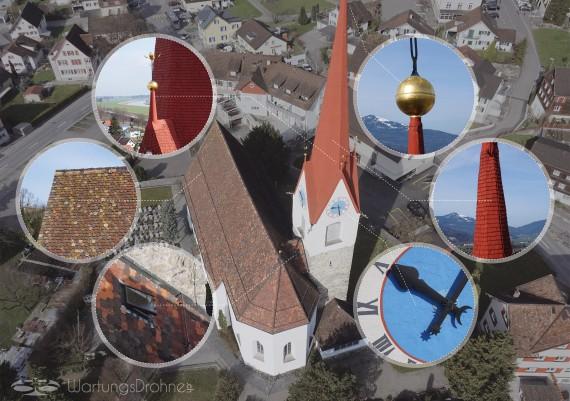 Inspektion Kirche Montlingen, St. Gallen