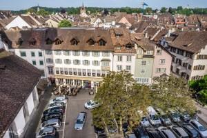 Luftaufnahme Hotel Kronenhof