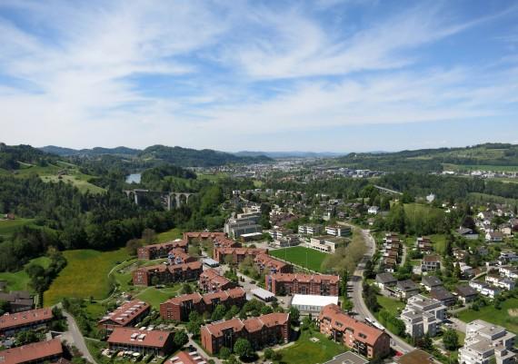 Luftaufnahme St. Gallen