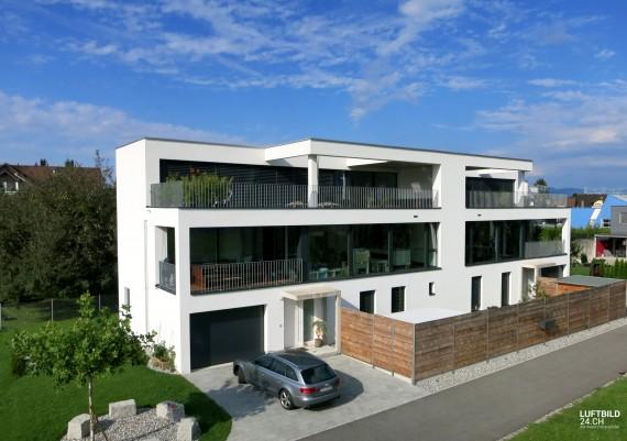 Luftaufnahme M+M Architektur, Widnau (St. Gallen)